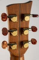 Mcilroy A36 guitar, Spruce Rosewood, Celtic Knot Inlay